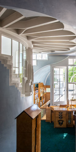The Cosmic House continues Charles Jencks' legacy in its public reopening