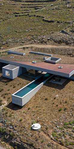 Aristides Dallas Architects' Lap Pool House paints a picture of minimal poetry
