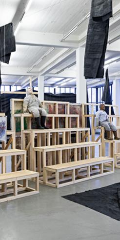 Turner Prize 2019 co-winner Oscar Murillo's solo show at Kunstverein in Hamburg