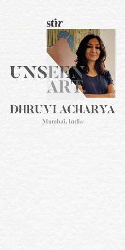 Unseen Art: Dhruvi Acharya on her mixed media installation that would have been