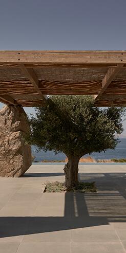 K-Studio's laidback villa in Greece adopts the 'form follows emotion' principle