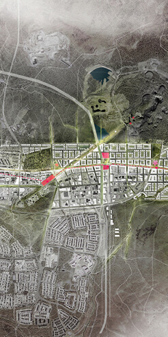 White Arkitekter is slowly moving the sinking mining town Kiruna to a new location