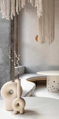 Yakusha Design's Istetyka Eatery channels live minimalism with recycled materials