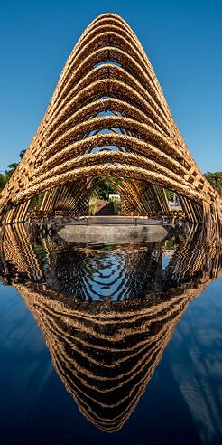 Zuo Studio creates a majestic riverside Bamboo Pavilion in Taichung, Taiwan