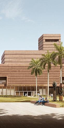 Adjaye Associates designs Edo Museum of West African Art over archaeology site