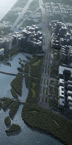 American firm NBBJ unveils Net City, a smart district for China's tech giant Tencent
