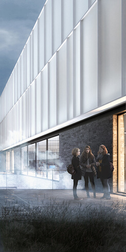 Henning Larsen envisions Arctic University Museum of Norway as a glowing beacon