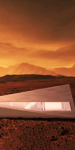 Cybunker, a concept design house by LARS BÜRO for Tesla's Cybertruck