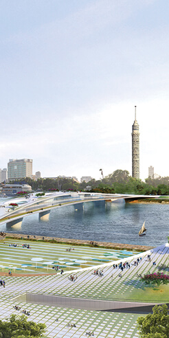 Five Egyptian architects win Rifat Chadirji Prize 2020 for 'living bridge over the Nile'