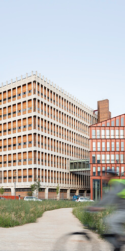 French telecom group Orange's new HQ in Lyon open to the city, daylight and fresh air
