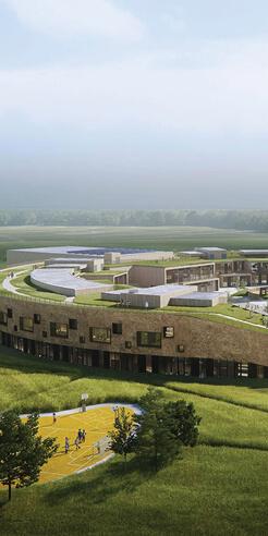 Henning Larsen's design for primary school in Denmark awarded Nordic Ecolabel