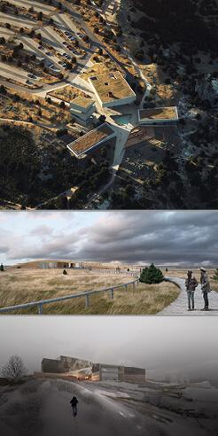 Henning Larsen, Studio Gang, Snøhetta reveal Theodore Roosevelt Library design