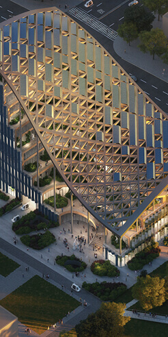 MVRDV unveils LAD HQ, an agriculture oasis in the heart of Shanghai
