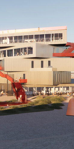 MVRDV unveils its design for The Harbour Experience Centre in Rotterdam