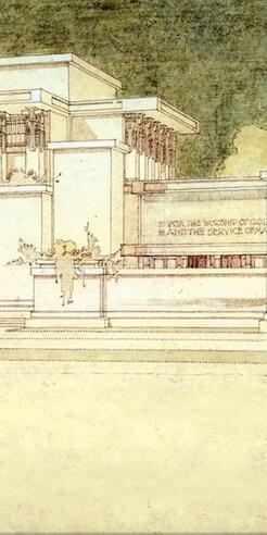 Restoration of Frank Lloyd Wright's Unity Temple gets a new documentary film