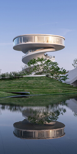 Nordic - Office of Architecture builds spiraling Nanchang Waves tower in China