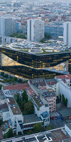 OMA's Axel Springer building in Germany breaks down isolated thinking
