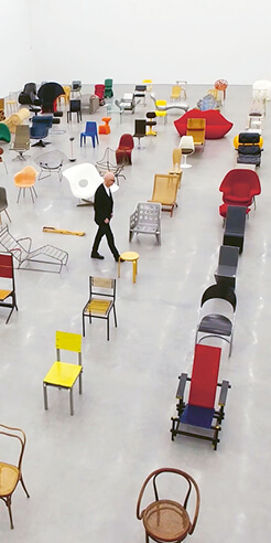 Vitra streams 'Chair Times' to let viewers immerse in the history of modern seating