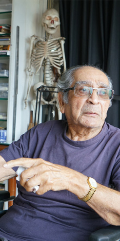 Akbar Padamsee - a painter, philosopher and a pioneer of modern Indian art