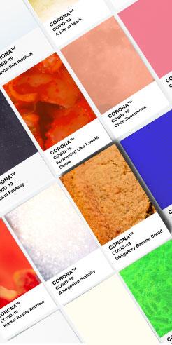 Phantome Palette: a brand new colour chart for the post-coronavirus world