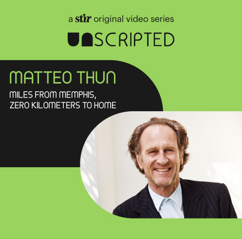 UNSCRIPTED with Matteo Thun: Miles from Memphis, zero kilometers to home