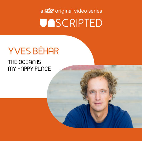UNSCRIPTED with Yves Béhar: The ocean is my happy place