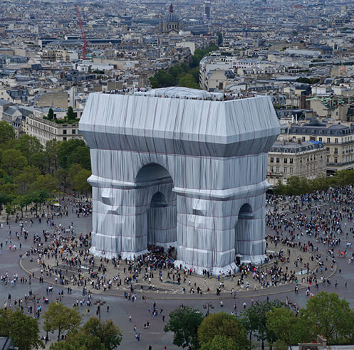 Arc de Triomphe, UNwrapped: a design lens on the silver tapestry that spellbound Paris