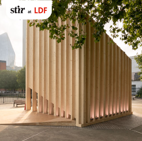 Henning Larsen designs The Cube by VELUX as a calming haven on London's South Bank