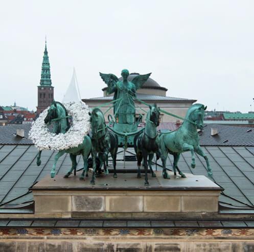 Hesselholdt & Mejlvang reconfigure iconic symbols to talk about cultural pluralism