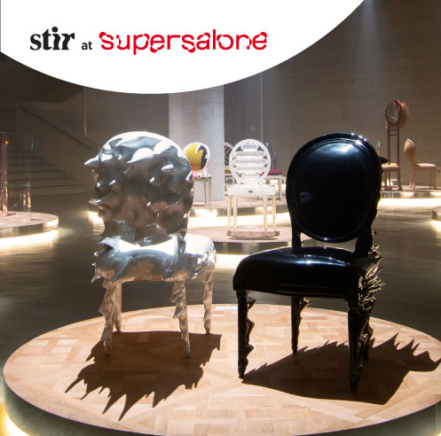 Iconic Dior Medallion chair reimagined by 17 artists and designers at Supersalone