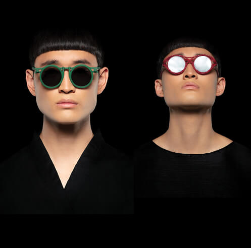Kengo Kuma, VAVA launch eyewear inspired by architecture, created from castor beans