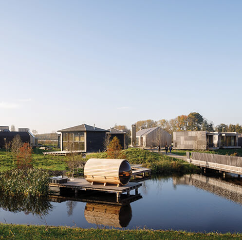 The Unbound on the edge of Amsterdam is a landscape for city escape