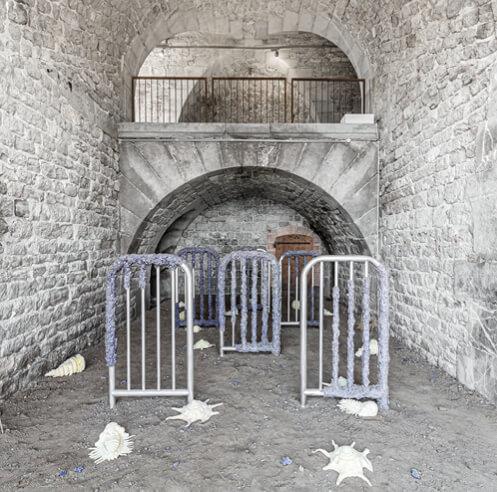 Artist Nelson Pernisco shares his interest in urbanism and brutalist aesthetic