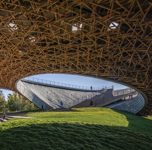 Zhu Pei's performing arts centre in China defies the traditional imagery of theatres