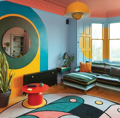 Scottish interior designer Sam Buckley on his relationship with colour