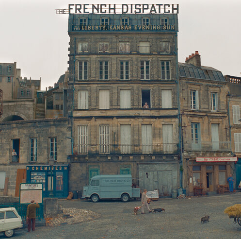 Entering the vibrant, idiosyncratic world of Wes Anderson's 'The French Dispatch'