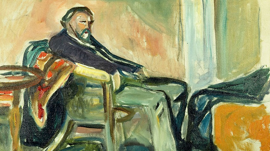 Exploring artist Edvard Munch's iconic works developed during the Spanish flu