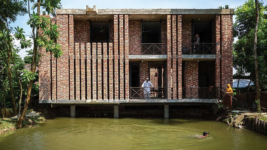Shikor Country House in Bangladesh revels in the simple charm of rural architecture