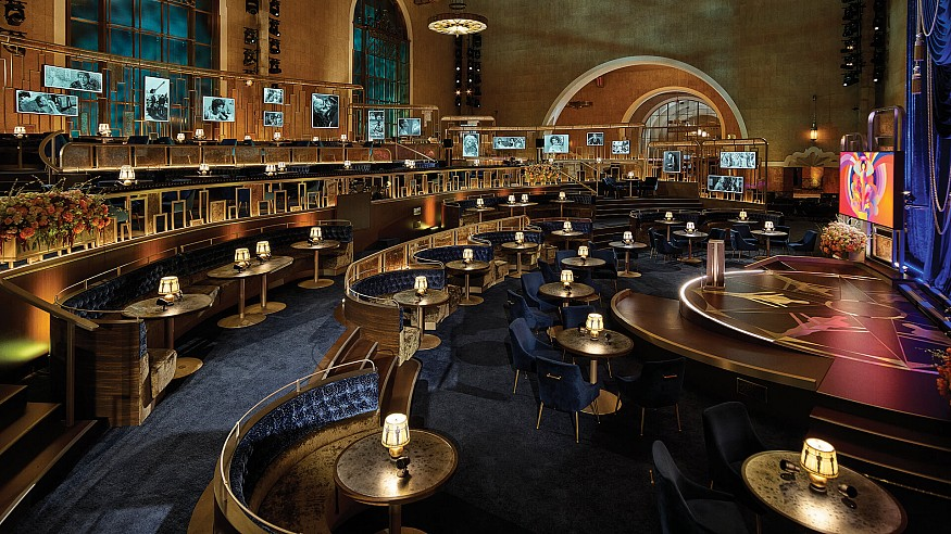 Design at the Oscars: Rockwell Group's set recaptures the spirit of Hollywood's past