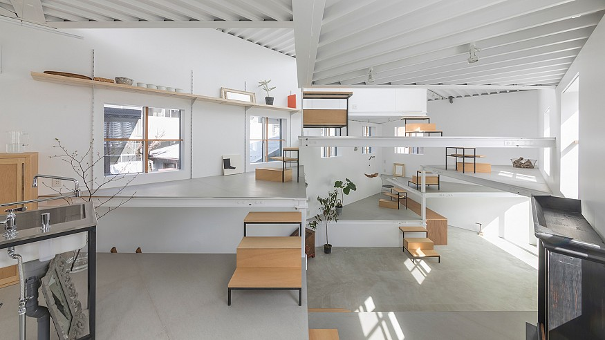 Tato designs an unconventional and innovative house in Japan