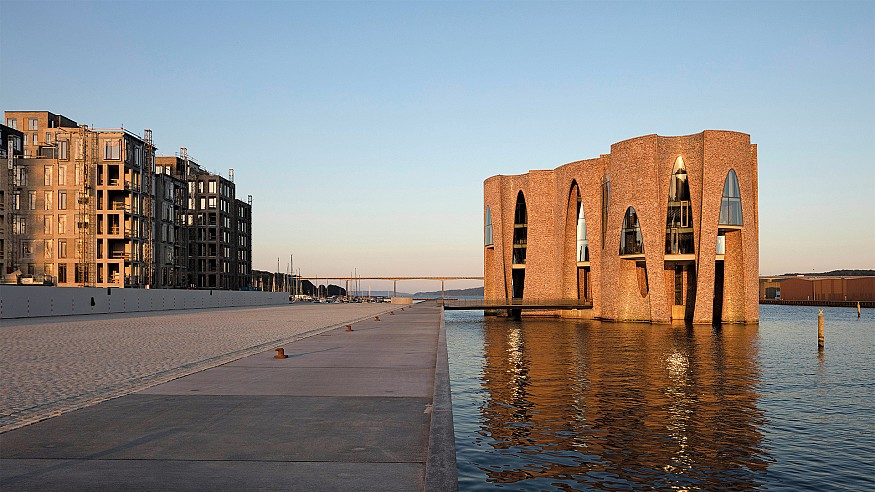 Olafur Eliasson & Sebastian Behmann collaborate to make a building