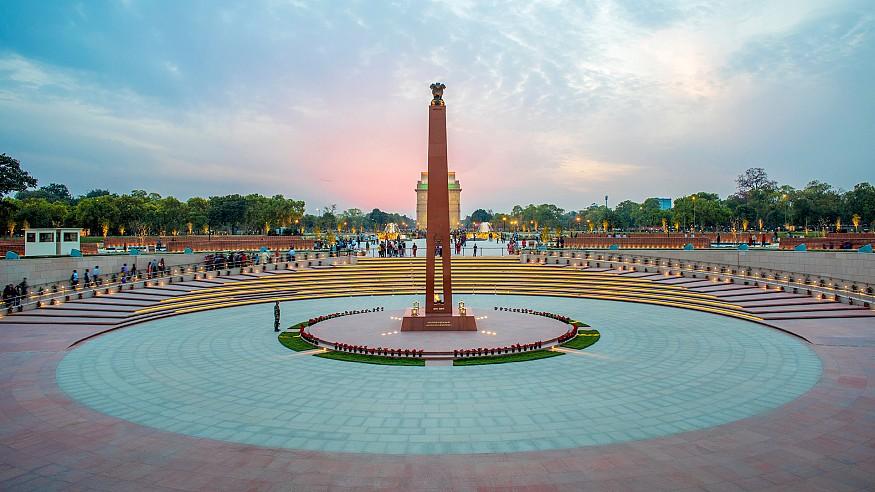 The National War Memorial, New Delhi