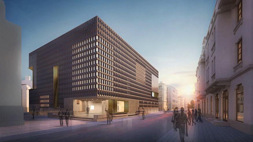 The new Aranya Art Centre designed by Neri&Hu opens in China