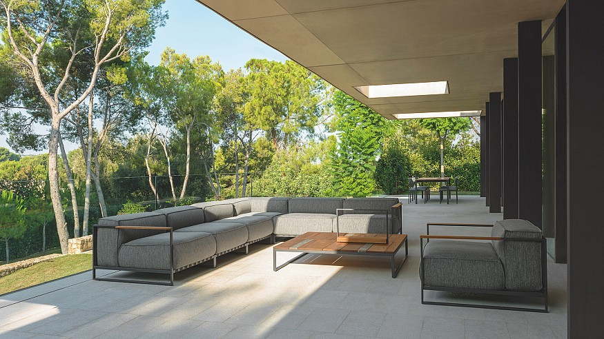 Italian brand Talenti brings its chic outdoor furniture to New York