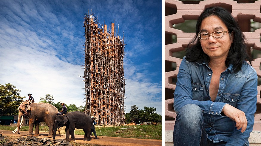 RA Dorfman Award conferred on Thai architect Boonserm Premthada