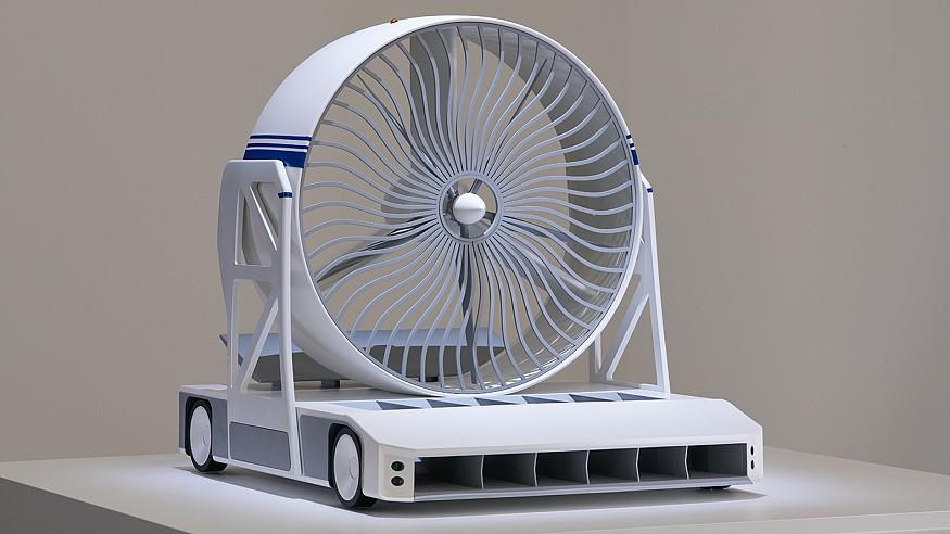 Lexus Design Award, Finalist - 'Green Blast Jet Energy' by Dmitriy Balashov