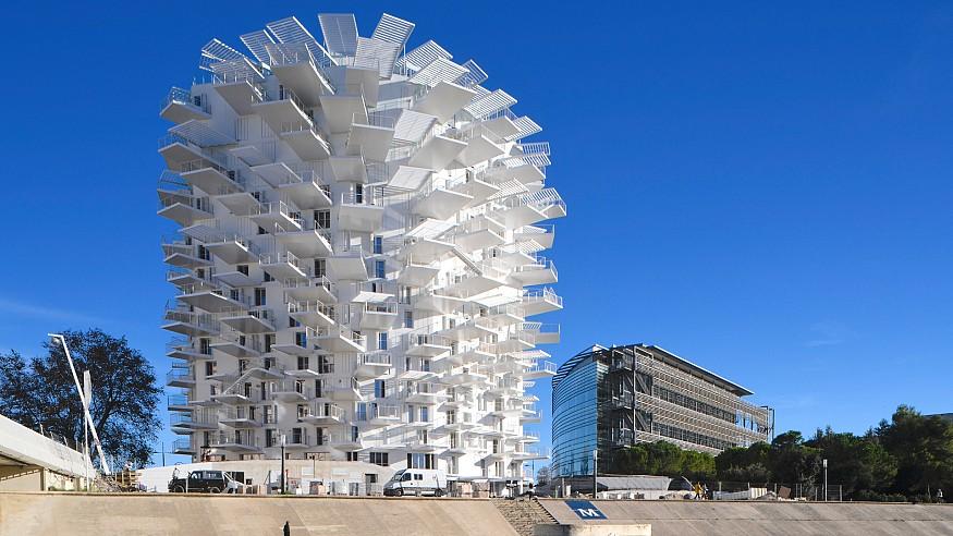 Sou Fujimoto's L'Arbre Blanc reflects Japanese, Mediterranean cultures