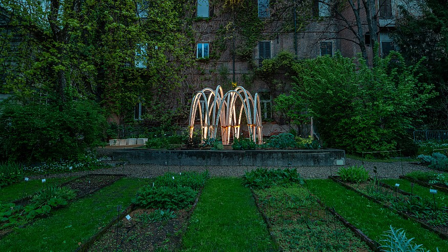 Carlo Ratti Associati grows architectural structures from mushrooms