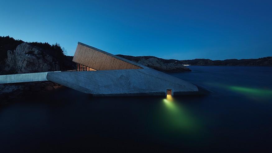 Snøhetta creates Europe's first underwater restaurant 'Under' the sea