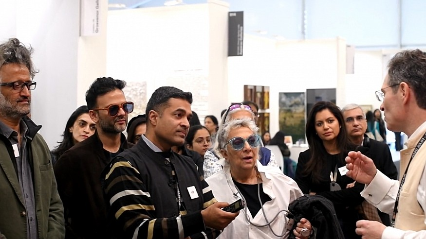 STIR curates a special walk with Paola Navone at India Art Fair 2020